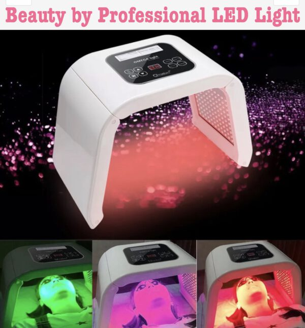 LED Light Therapy Machine Beauty Devices for Wrinkles Acne darkspots